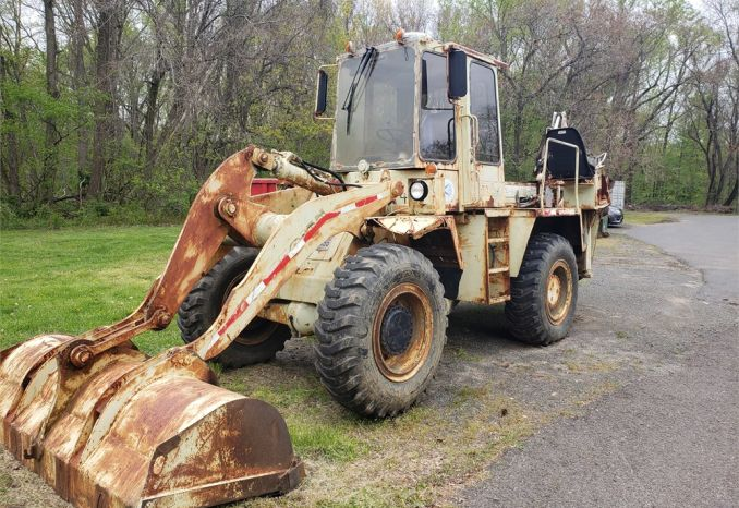 1988 Trojan 1500Z Wheel Loader w/Backhoe Attachment-DSS2441