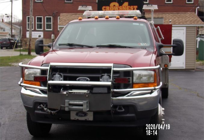 2001 Ford F-550 Mini Attack CAFS Pumper
