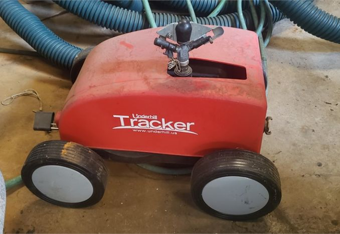 Underhill tracker portable irrigation unit