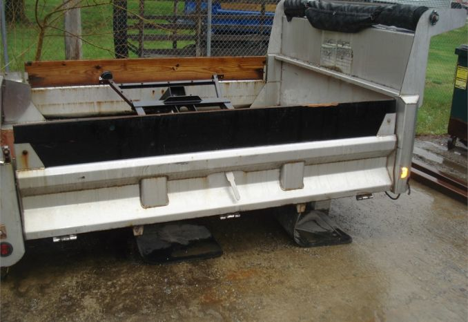 Stainless Steel Mason Dump body