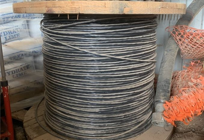 6 conductor PVC jacketed, shielded cable