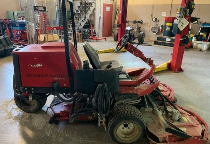 1991 Toro Groundmaster 3500D Mower