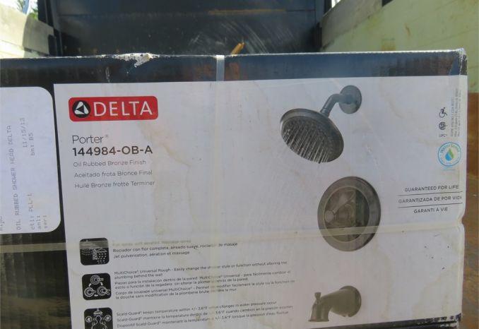 Delta Bronze Shower Head