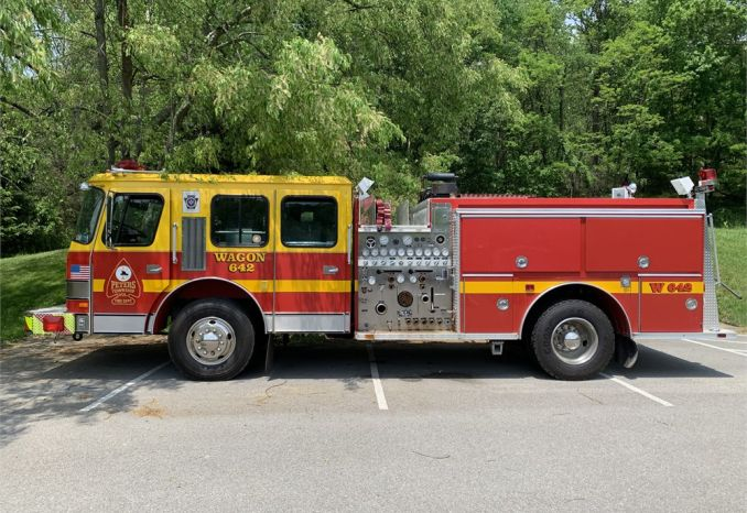 1988 E-One Federal Pumper Fire Truck