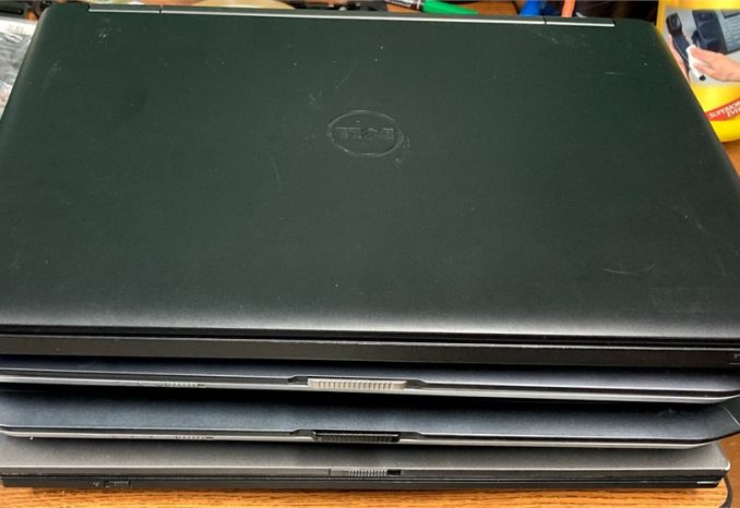 Dell Laptops (Lot of 4)