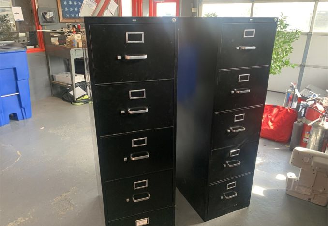 Filing Cabinets (2)