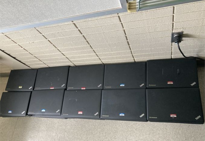 Lenovo Laptops (Lot of 50)