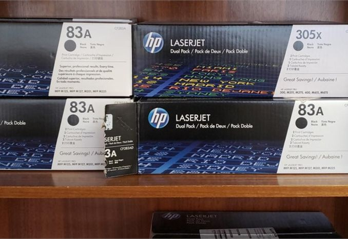 Various HP LaserJet Toners