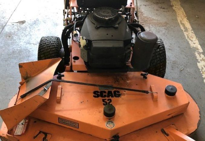 Scag walk behind mower 52'' cut