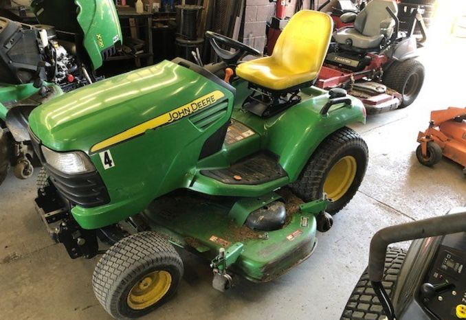 2014 john deere x720 riding mower
