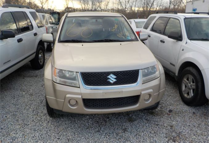2007 Suzuki Grand Vitara/ LOT60-540433-R