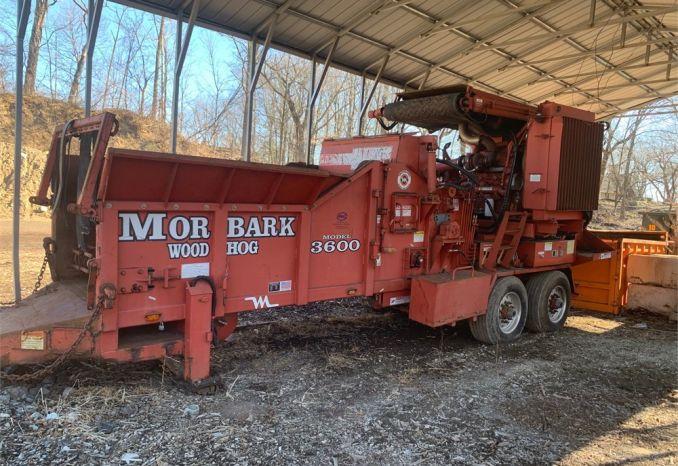 Morbark Wood Hog 3600 Tub Grinder