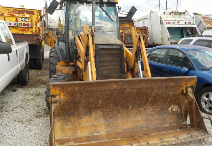 2006 Case 590 Backhoe/ LOT10-060064