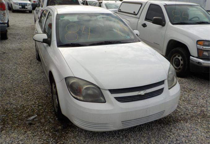 2008 Chevy Cobalt/ LOT84-085357-R