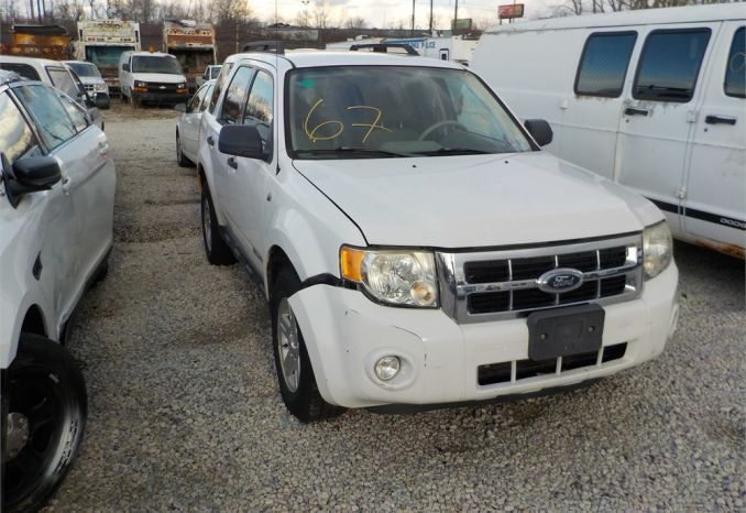2008 Ford Escape Hybrid/ LOT67-080106-NR