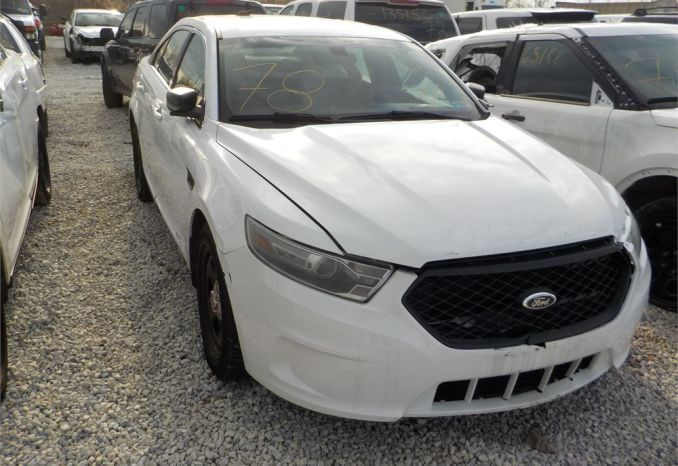 2014 Ford Interceptor/ LOT78-145042-R