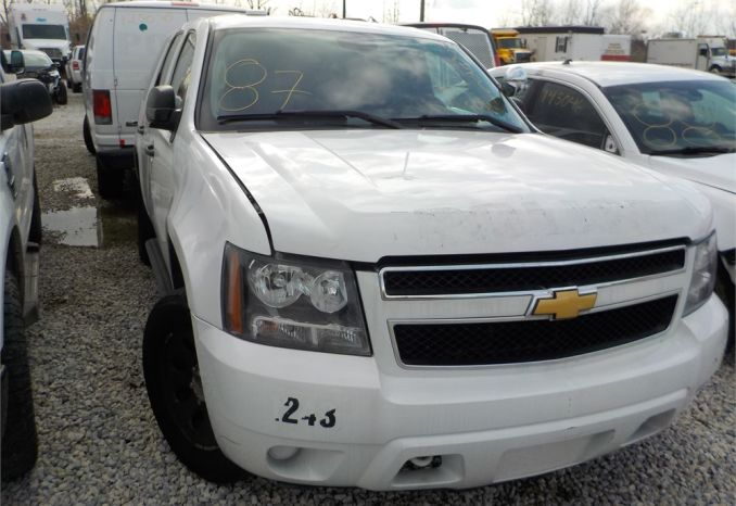 2012 Chevy Tahoe/ LOT87-125061-NR