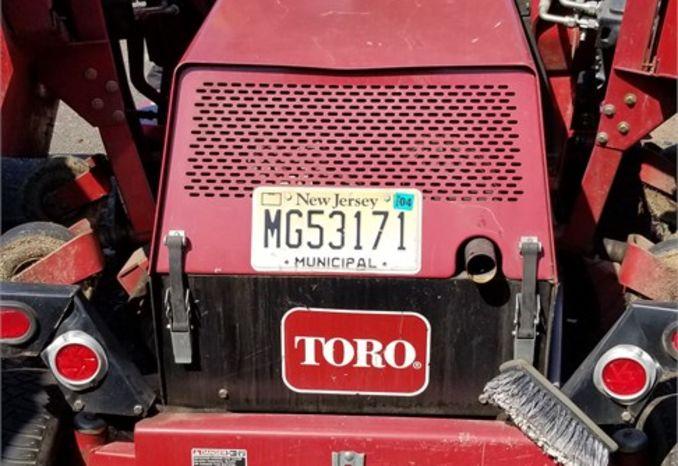 2002 Groundsmaster 580D