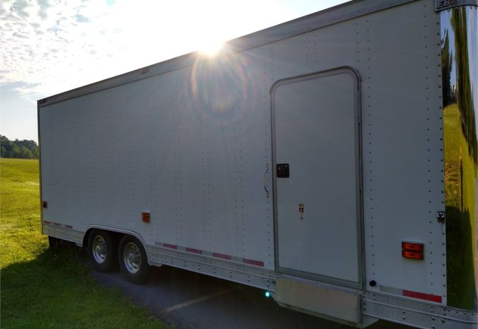 2004 EBY Enclosed Trailer 28'