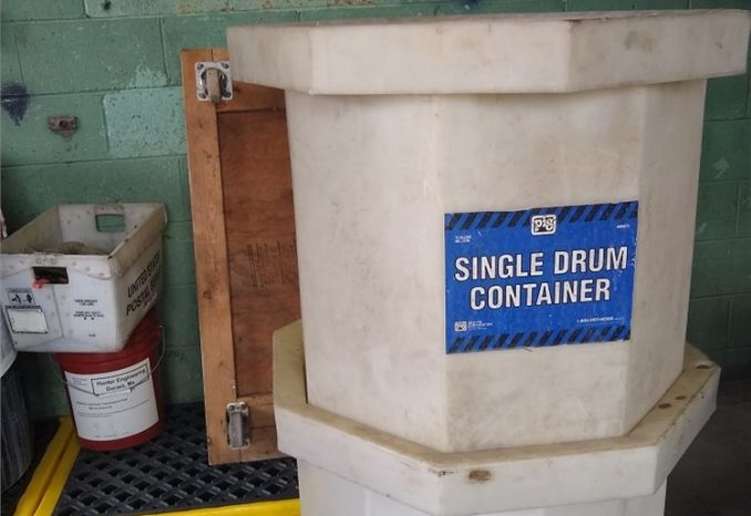 Single Drum Containment Units