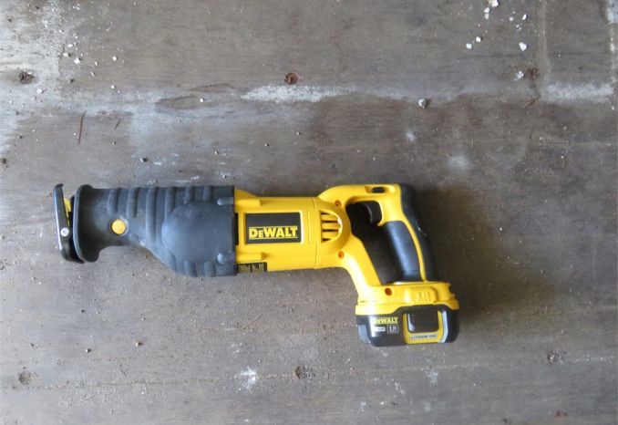 Dewalt Cordless Reciprocating Saw
