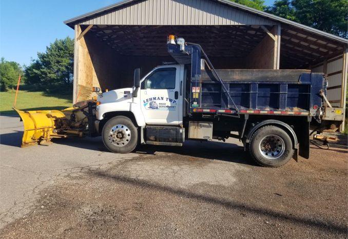 2007 GMC Dump/plow truck