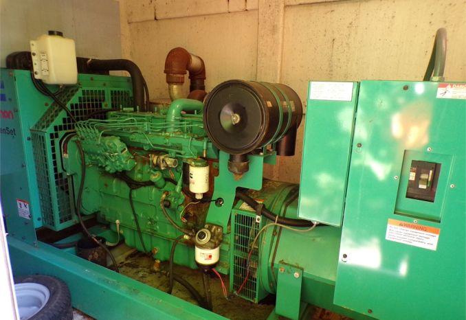 125 KW Cummins Onan Generator