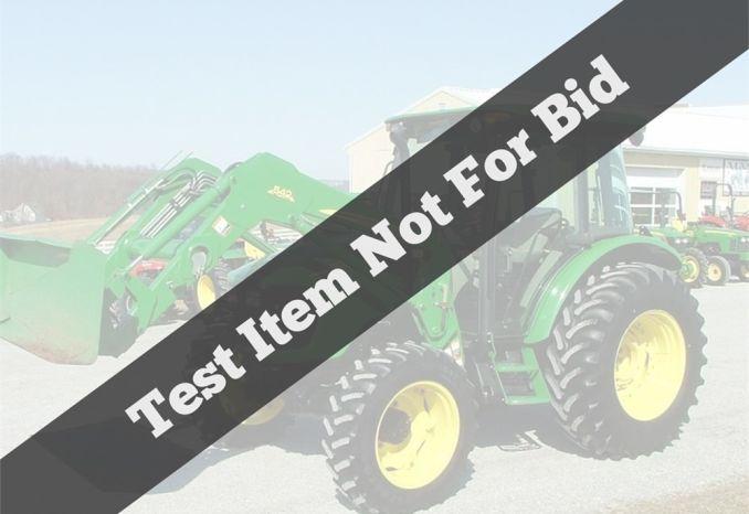 Test listing not for bid - 110kbf