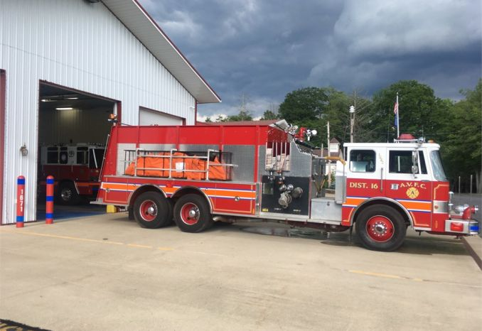 1991 Pierce Dash Pumper Tanker 2500 Gallon