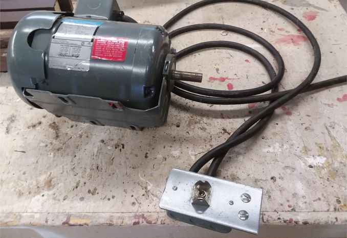 BRAND NEW ROCKWELL 3/4 HORSE ELECTRIC MOTOR   *NEVER USED *