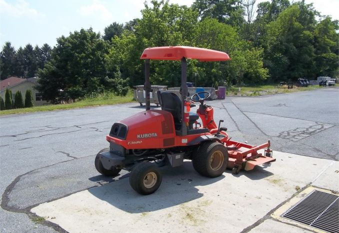 "2012 Kubota 72"" Mower with Canopy"