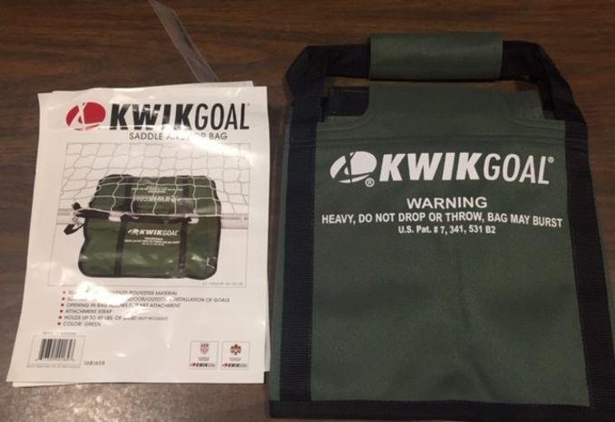 KwikGoal Saddle Anchor bag