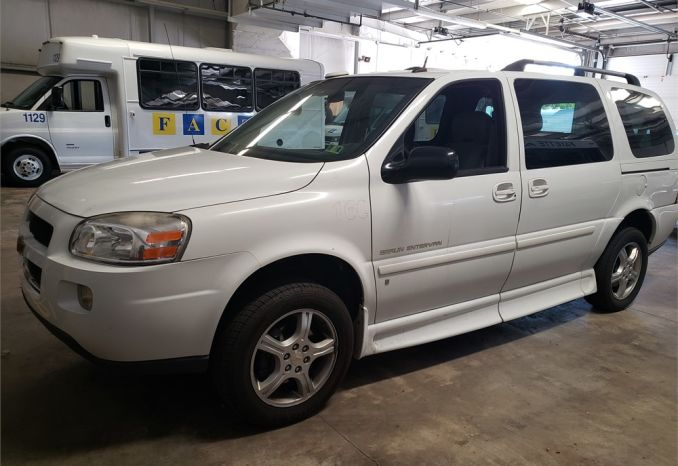 2009 Chevy Uplander Low Floor Wheelchair Van