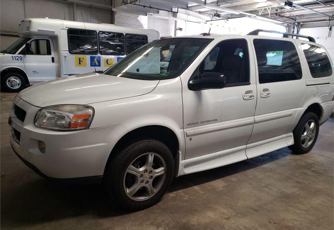 2009 Chevy Uplander Low Floor Wheelchair Van