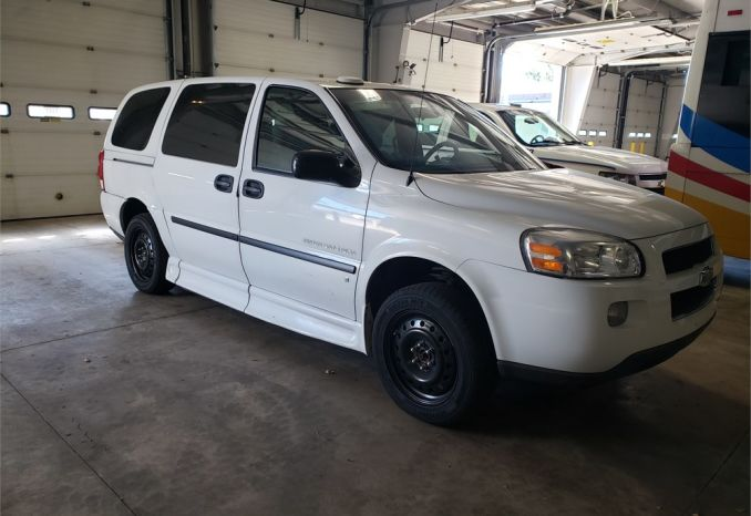 2008 Chevy Uplander Low Floor Wheelchair Van