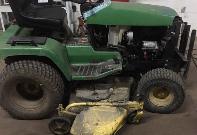 1996 John Deere 455 Tractor