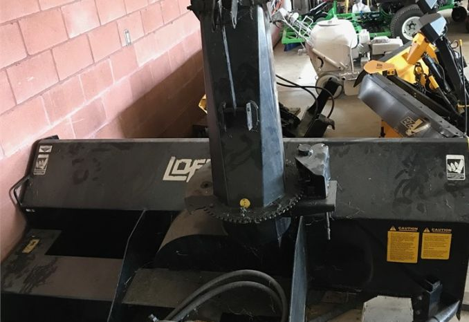 Loftness hydraulic snow thrower