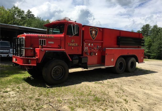 1989 International Paystar 5000 Fire Tanker