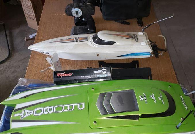 3 Remote Control Boats