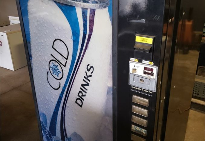 Dixie Narco Soda Machine