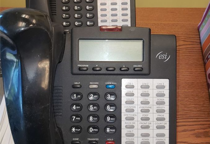 26 ESI Office Phones