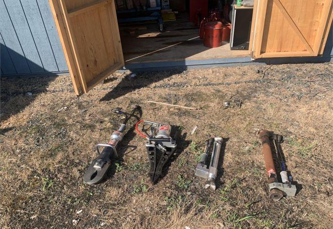 6 Piece Extrication Tool Set