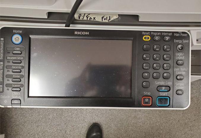 RICOH copier/printer/fax Model #MP3353 (with extra toner)
