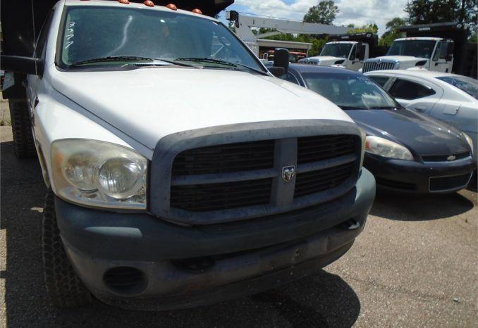 2009 Dodge Ram 3500 Dump Truck Runs