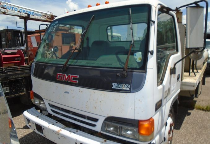 2004 GMC Vacuum truck, does not run, has sat for 2 years