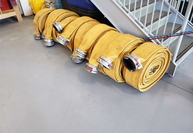 "5"" Supply Hose 100' lengths"