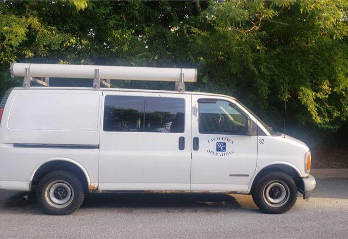 2002 GMC Savana Van
