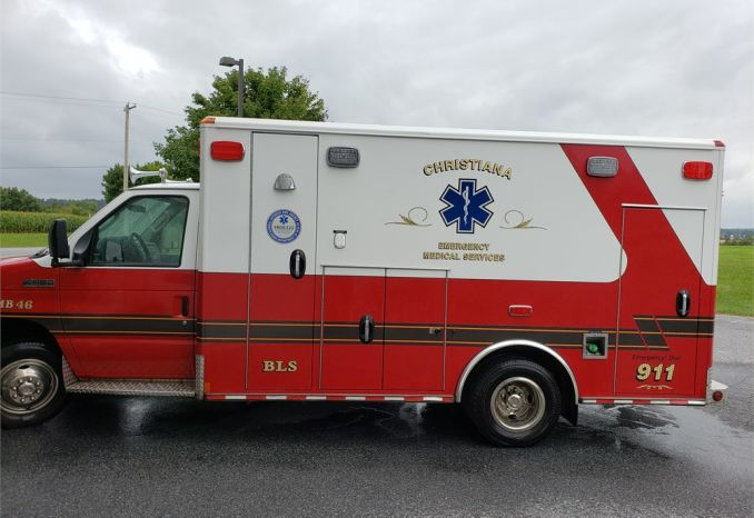 2010 Ford E-450 Wheeled Coach Ambulance
