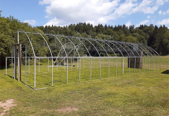 Hoop House Framing - 48' x 16'