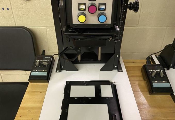 BESELER 23C II XL DICHRO COLORHEAD PHOTO ENLARGER (#2)